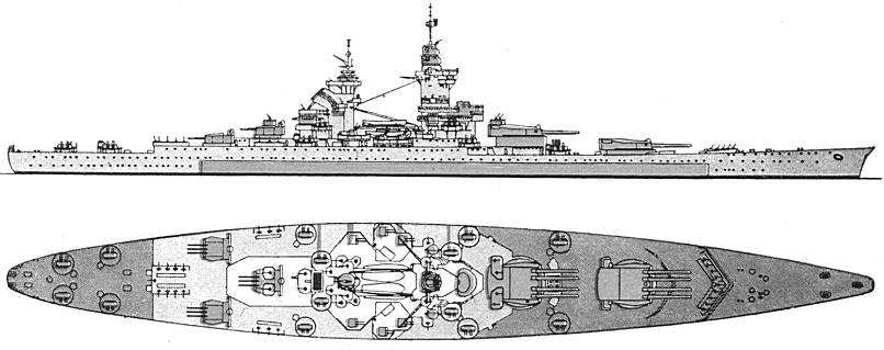 <i>Richelieu </i>1954