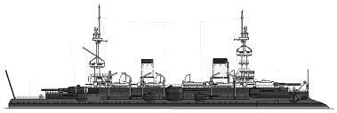 <i>Masséna</i> 1898 drawing from www.shipbucket.com